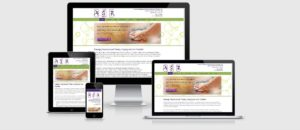 Arizona Massage Therapy website developed using WordPress and Thesis