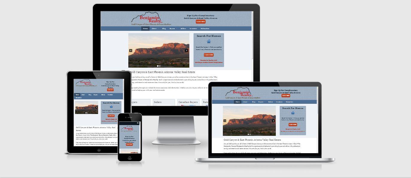 Benjamin Realty website
