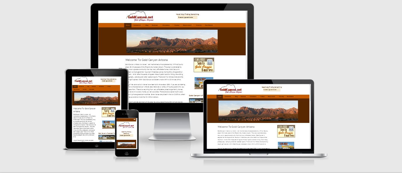 GoldCanyon website