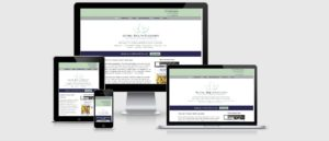 Natural Health Associates website developed using WordPress and Thesis theme